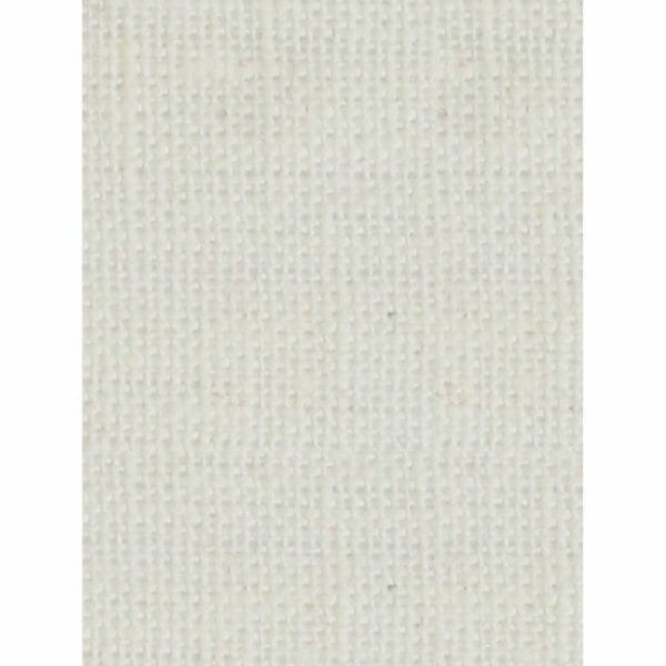 Ecological white Linen fabric sample for curtains.