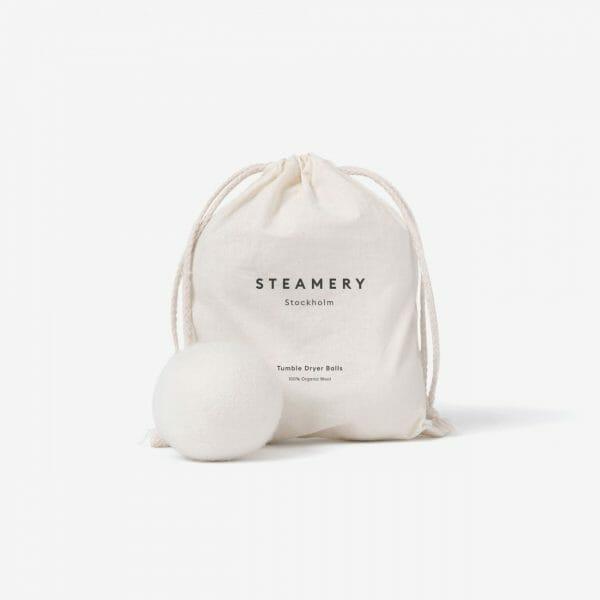 tumble dryer ball steamery stockholm villapallo ekologinen pesu vaatehuolto restyle vaasa