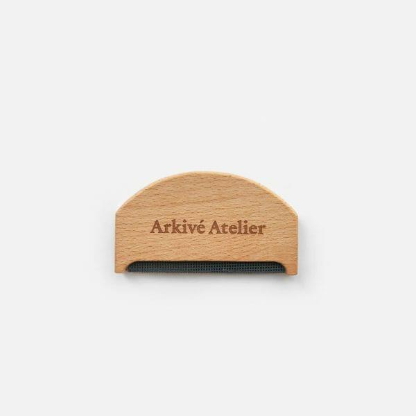 Arkive Atelier wooden lint remover RESTYLE vaasa