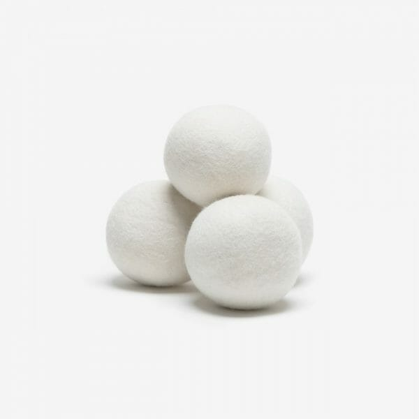 Tumble dryer balls by Stockholm Steamery sold by RESTYLE Vaasa Finland. Wool dryer balls