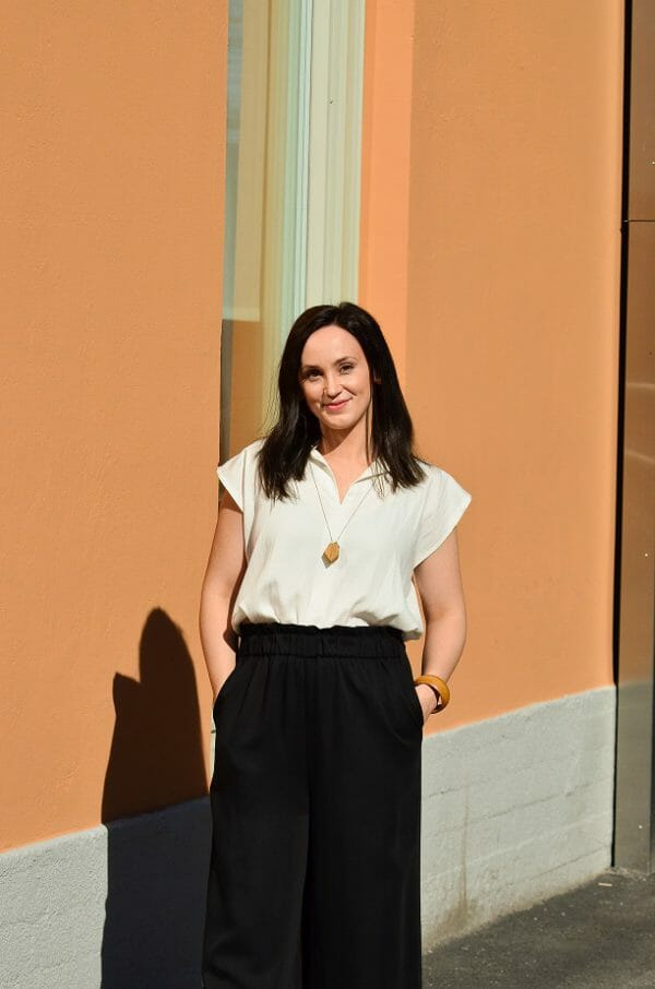 Maria Holm, RESTYLE omistaja. Kuva: Frukostflickorna Vasa