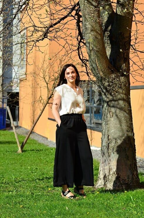 Maria Holm, Queen of Slow Fashion, RESTYLE omistaja. Kuva: Frukostflickorna Vasa